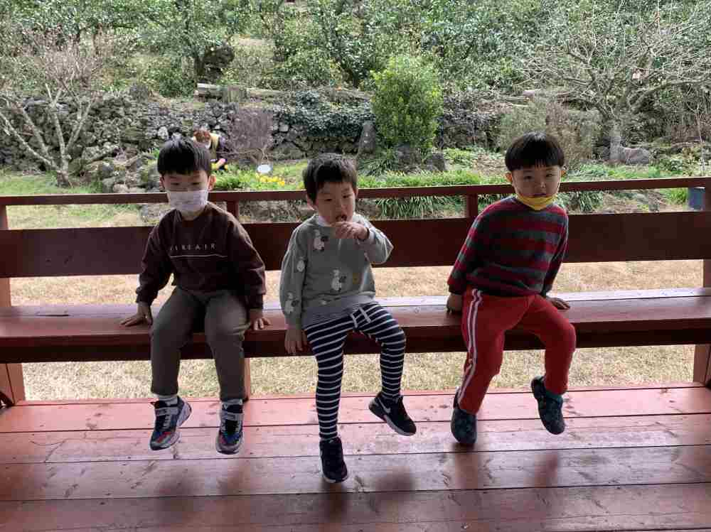 유치원 소나무반 학급사진