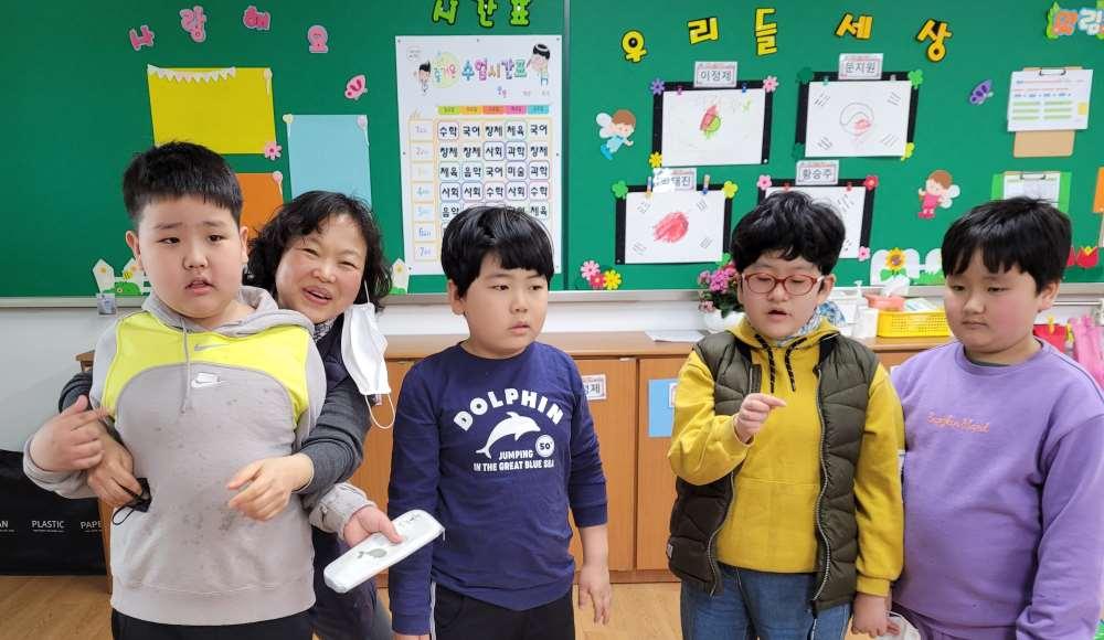 초등학교 3학년 2반 학급사진