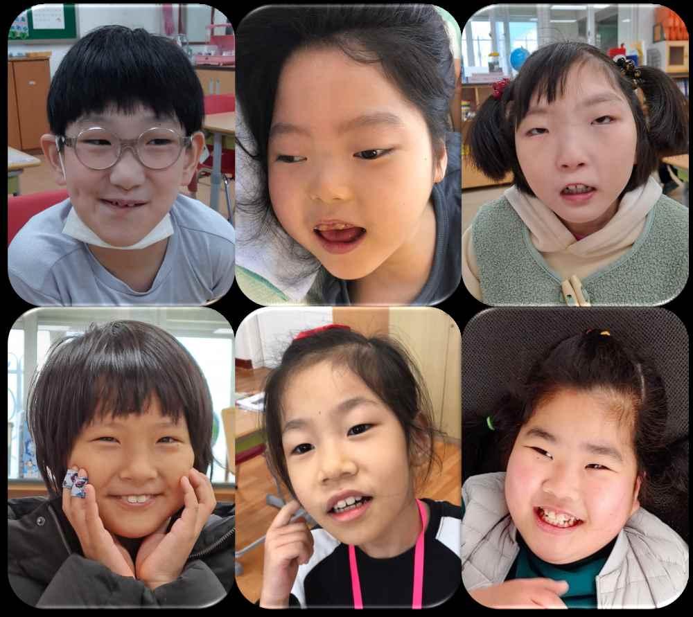 초등학교 4학년 2반 학급사진