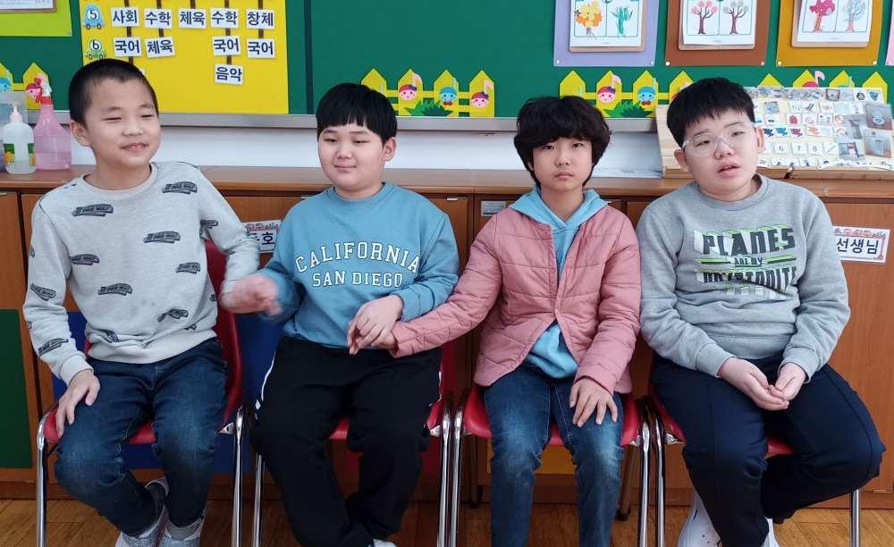 초등학교 5학년 2반 학급사진